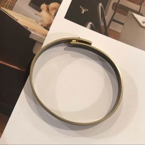 Madewell Bronze Industrial Bangle